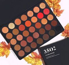 Gorgeous warm toned Morphe eyeshadow palette - wishlist