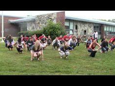 Flash Mob Tribute to Elementary School Principal, Mrs. Andrade Serpa - YouTube