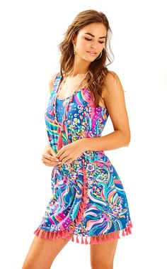 62f270575d0 LILLY PULITZER JARRETT ROMPER.  lillypulitzer  cloth   Warm Weather  Outfits