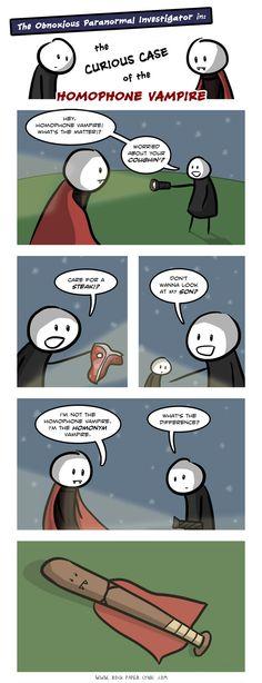 Grammar laughs...the best type.