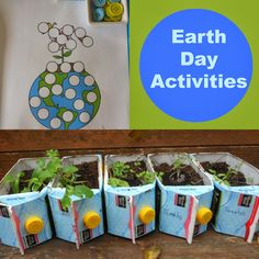 Natural Beach Living: Love the idea of using juice boxes to grow plants in the classroom!