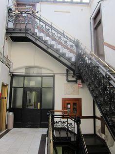 Hotel Chelsea Stairwell