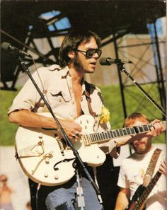 """rockandrollpicsandthings: """" Neil Young onstage in 1974 """""""