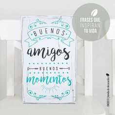 ONDECÓ Cuadros vintage 6 Mr Wonderful, Book Quotes, Wood Signs, Gifts For Women, Hand Lettering, Decoupage, Diy And Crafts, Clip Art, Creative