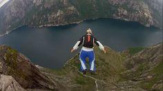 BASE Jump em Kjerag - Noruega