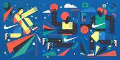 Neil Stevens recently created a handful of pitched ideas for a new Nike wall mural to be placed within an outdoor basketball court in Barcelona. The imagery would also be used as stand alone print adverts. Neil Stevens is a creative illustrator, image-maker and graphic artist based in St Albans and London, United Kingdom. The…
