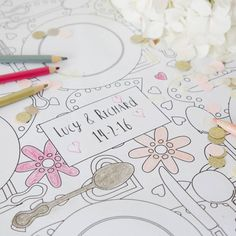 Personnalised Colour In Wedding Tablecloth