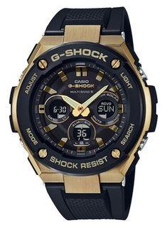 Casio G-Shock Steel GST-W300G-1A9ER Solar en Radiocontrolled. Een prachtige en stoere G-Shock. In staal en leer uitgevoerd met double tinten. Dit horloge heeft alle gebruikelijke functies zoals dubbele LED-verlichting, schokbestendigheid en tot 200 meter waterdicht.