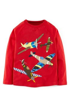 Mini Boden 'Retro' Cotton T-Shirt (Toddler Boys, Little Boys & Big Boys) available at #Nordstrom