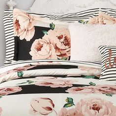 Lush Decor comforters and quilts make it easy to create a stylish room. Shop our bedding and comforter sets in a range of fabrics and patterns. Kids Comforters, Big Girl Rooms, Kids Rooms, Floral Comforter, Queen Comforter Sets, My New Room, Pillow Shams, Decorative Throw Pillows, Lush