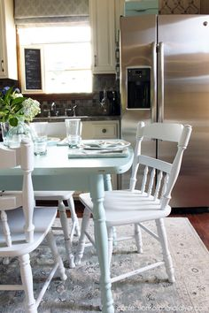 The Best Way To Paint A Laminate Kitchen Table  Kitchens I Love Magnificent Laminate Kitchen Table Design Decoration