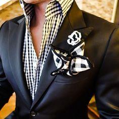 A Sebastian Cruz Couture look mensfashionpost #bespoke #detail #zaramen