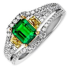 Frederic Sage Emerald Ring