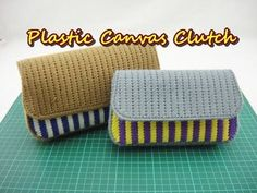 Hello there! Today we're are making a purse clutch using plastic canvas. Please subscribe for more tutorials and craft ideas.