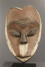 Art africain - Masque Kwele Ekuk