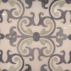 Linnet Water Jet Marble Mosaic Tile Light Colors For A Very Subtle Summer Feel