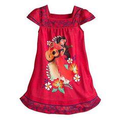 fe4ce66c3b Girls Disney Princess Elana of Avalor Nightgown Disney Store BNWT Size 5 6  Kids