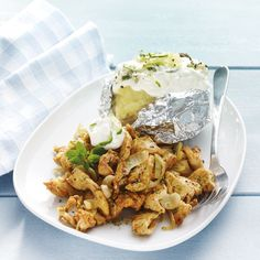 Gyros de poulet et tzatziki | Recettes Saines | Weight Watchers