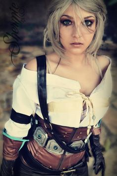 Ciri - The Witcher by Shermie-Cosplay.deviantart.com on @DeviantArt