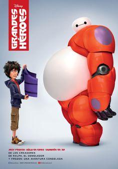 Una comedia de aventuras sobre el vínculo especial que se desarrolla entre Baymax, un robot inflable, y el niño prodigio Hiro.