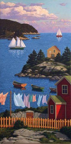 Canada ~ Paul Hannon ~ Coastal Afternoon