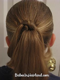 awesome ponytail