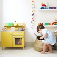 WOLF + FRIENDS — 5 Ways To Use A Play Kitchen For A Skill Building Activity.