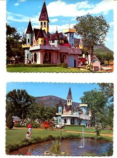 5 Different Autographed Arto Monaco Land of Make Believe Upper Jay NY Postcards