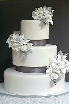 Winter wedding cake by The Unexpected Culinarian