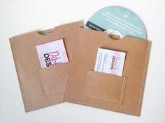 DVD Cases / Sleeves 25 DVD sleeves with business от paperyourday