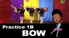 Hello Artist!  Practice the Bow with Nani Nani Kids Ballet Practice video 1B @ https://www.youtube.com/watch?v=lnuBFs-ts5E #kidsballet #kidsvideos #kids #ballet