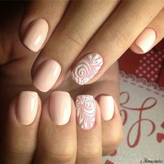 15 The Easiest Nail Art For Beautiful Life - Reny styles