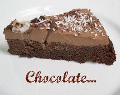 Onnistain on puolet sinun Desert Recipes, Raw Food Recipes, Baking Recipes, Baking Ideas, Free Recipes, Healthy Sweets, Healthy Baking, Gluten Free Chocolate Cake, Savoury Baking