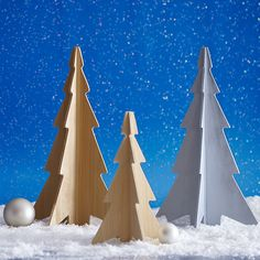 Free plans make these tabletop Christmas trees easy to cut out and assemble. Description from lowes.com. I searched for this on bing.com/images