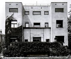ADOLF LOOS. House for Lilly and Hugo Steiner in Vienna, 1910