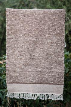 Vintage Kilim Rug Light Brown Beige, Handmade of wool Handwoven in Tunisia x x - The Berber Rug Berber Rug, Accent Rugs, Brown Beige, Kilim Rugs, Hand Weaving, Vintage Fashion, Wool, Handmade, Style