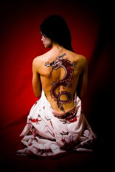 Eltphotography Tattoos: Red Dragon Tattoo