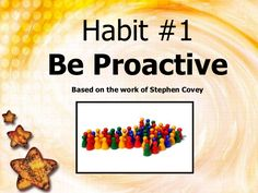 Be Proactive 1: Slide show to demonstrate (shaken soda=reactive, water bottle=calm, carry your own weather, etc.) Youth Leader, Leader In Me, Teaching Character, Character Education, 7 Habits Activities, Covey Habits, Seek First To Understand, Student Leadership, Student Teacher