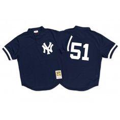 Bernie Williams 1995 Authentic Mesh BP Jersey New York Yankees | Mitchell & Ness