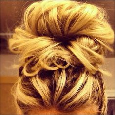 If only my hair would turn out cute like this -____-
