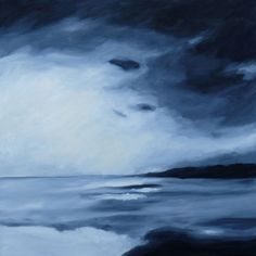 #oilpainting #cavas #sea #landscape #artcontemporain #art Waves, Clouds, Sea, Landscape, Outdoor, Contemporary Art, Outdoors, Scenery, The Ocean