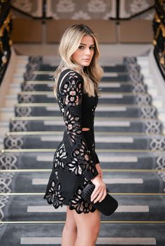 #ThássiaemParis: Look Black Night Skazi!