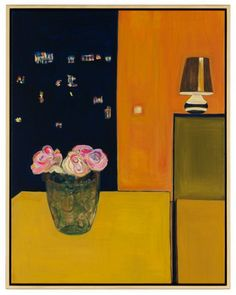 Caro Niederer paints an abstract room