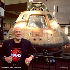 It's been almost 48 years since I took a ride in this thing. #Apollo11 #NoDreamIsTooHigh