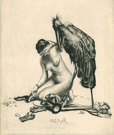 Juxtapoz Magazine - The Intricate Erotica of Richard Müller (1874-1954)