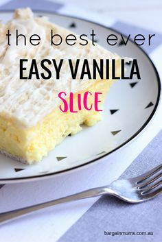 Just like the title suggests, this Easy Vanilla Slice is one of the easiest ways to make vanilla slice. Not only is it easy, but it tastes amazing!