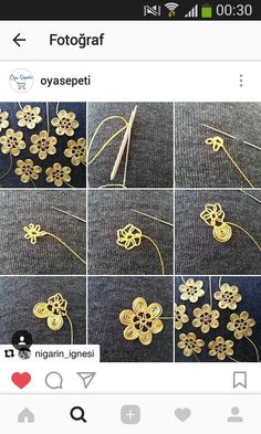 Needle Tatting Needle Lace Brazilian Embroidery Crochet Flowers Embroidery Stitches Lace Making Sewing Diy Crafts Floral Needle Tatting Patterns, Irish Crochet Patterns, Hand Embroidery Stitches, Baby Knitting Patterns, Diy And Crafts Sewing, Brazilian Embroidery, Filet Crochet, Needle Lace, Lace Making