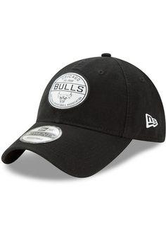 New Era Chicago Bulls Mens Red Core Standard 9TWENTY Adjustable Hat