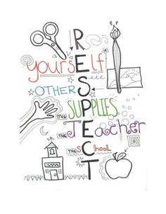 2+letter+sized+respect+posters+for+the+classroom