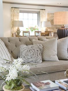 Chatham traditional living room just add pops of blue? Formal Living Rooms, My Living Room, Home And Living, Living Room Decor, Living Spaces, Living Room Inspiration, Home Interior Design, Sweet Home, House Design
